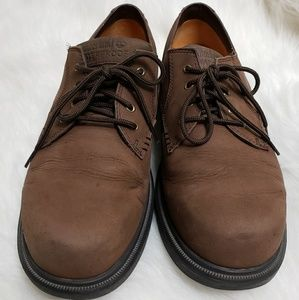 Timberland Brown Nubuck Leather  Casual Boat S10.5